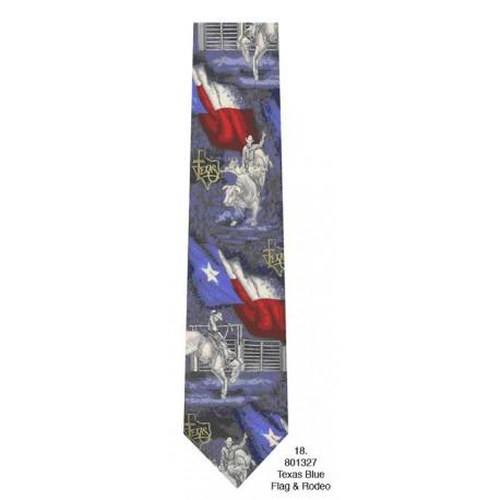 600-018-Tx Blue flag & rodeo