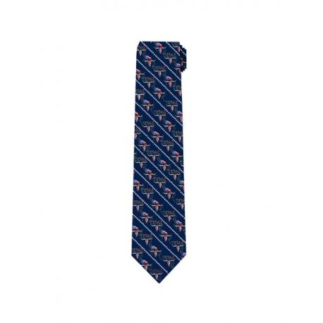 600-026 Texas Longhorn skull tie