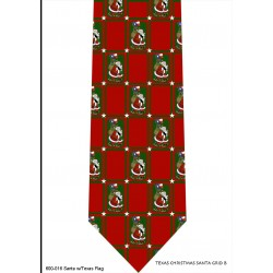 600-016-Santa with Texas flag tie