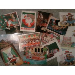 100-Texas Christmas Cards asst