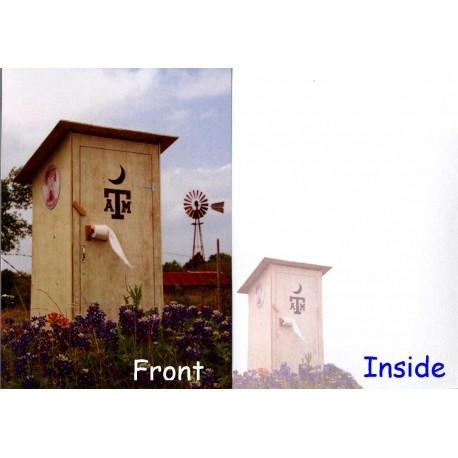 9659-Aggie Outhouse card